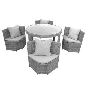 anndora Castina, Gartenmöbel, Möbel, Polyrattanmöbel, Sitzgruppe