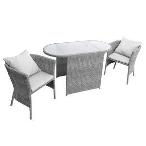 anndora Lingtang, Sitzgruppe, Lounge, Polyrattanmöbel, Gartenmöbel, Möbel, Sessel