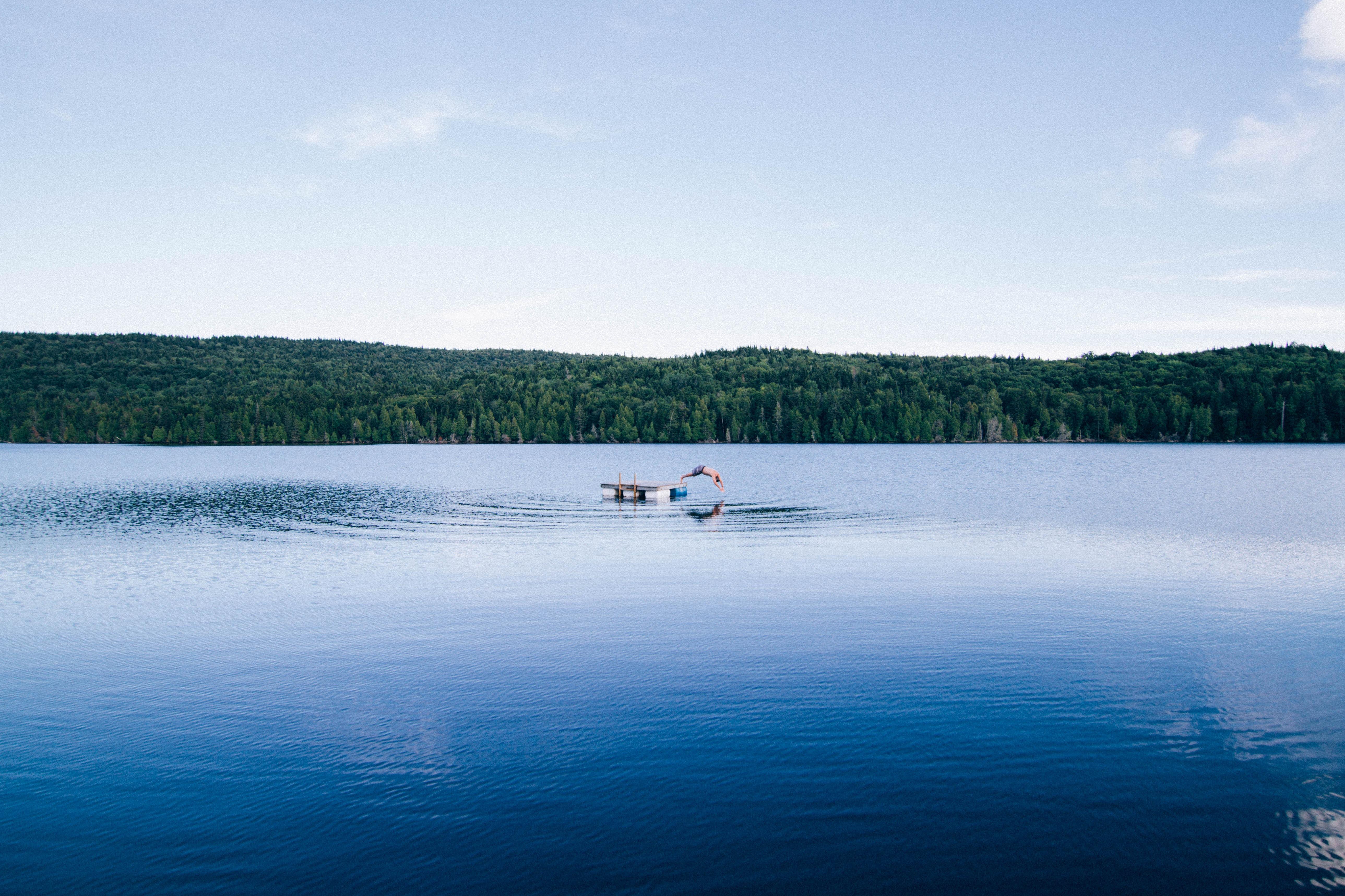See, schwimmen, Wasser, nass, Sommer