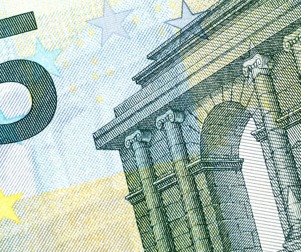 Geldschein, 5-Euro-Schein, Zahlungsmethode, Barzahlung