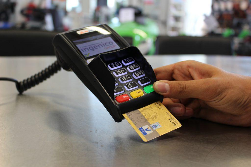 Kreditkarte, Lesegerät, Zahlungsmethode, Nachnahme
