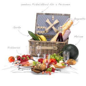 Picknickkörbe Weide